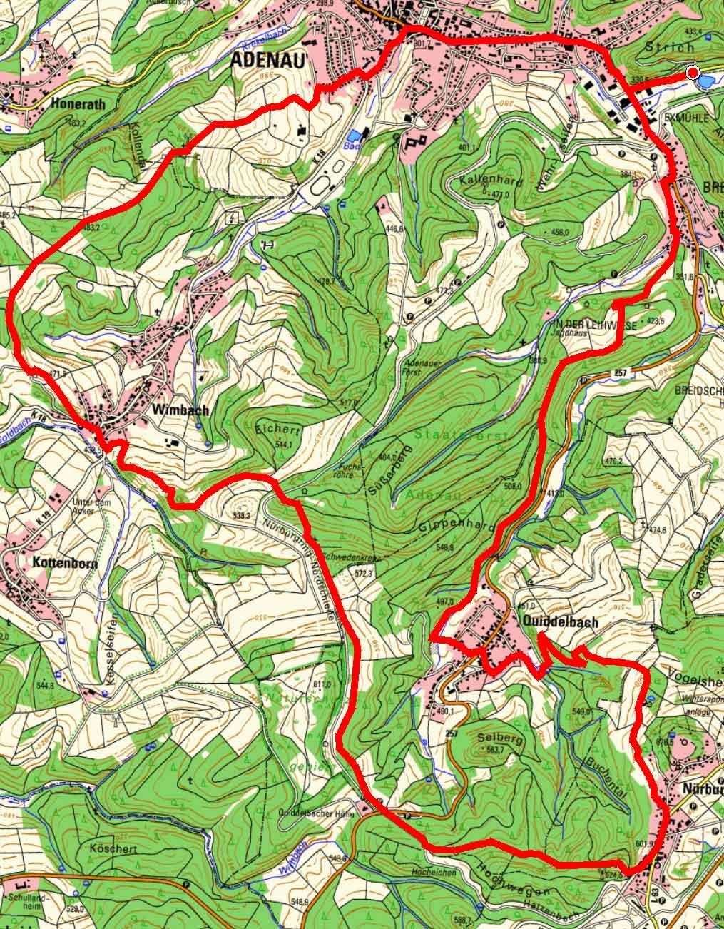 Wanderschoen Adenau
